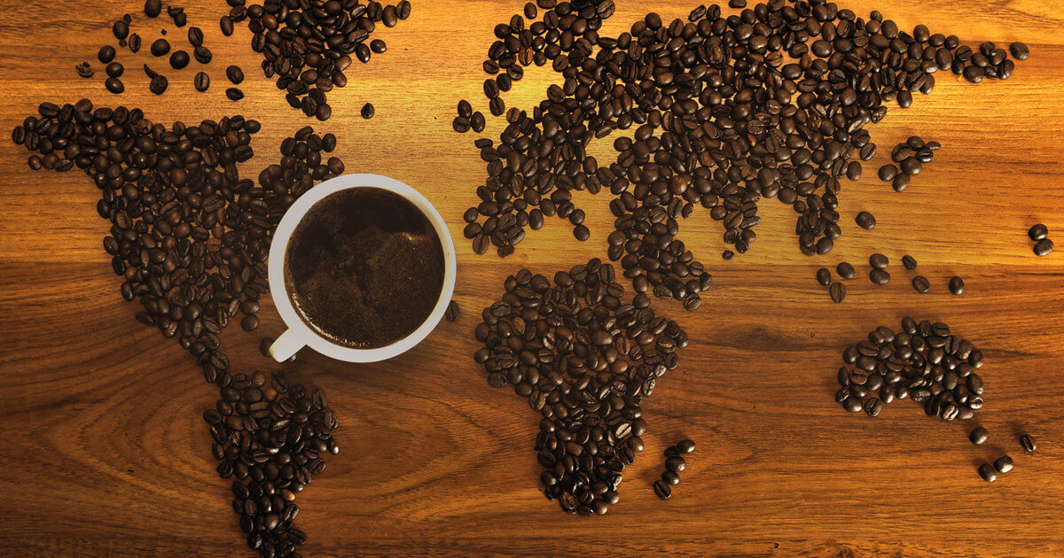coffee growing regions of the world