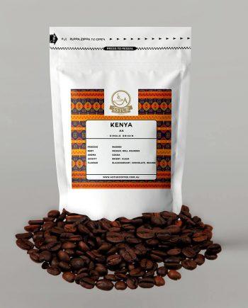 KENYA   AA Medium, well-rounded coffee