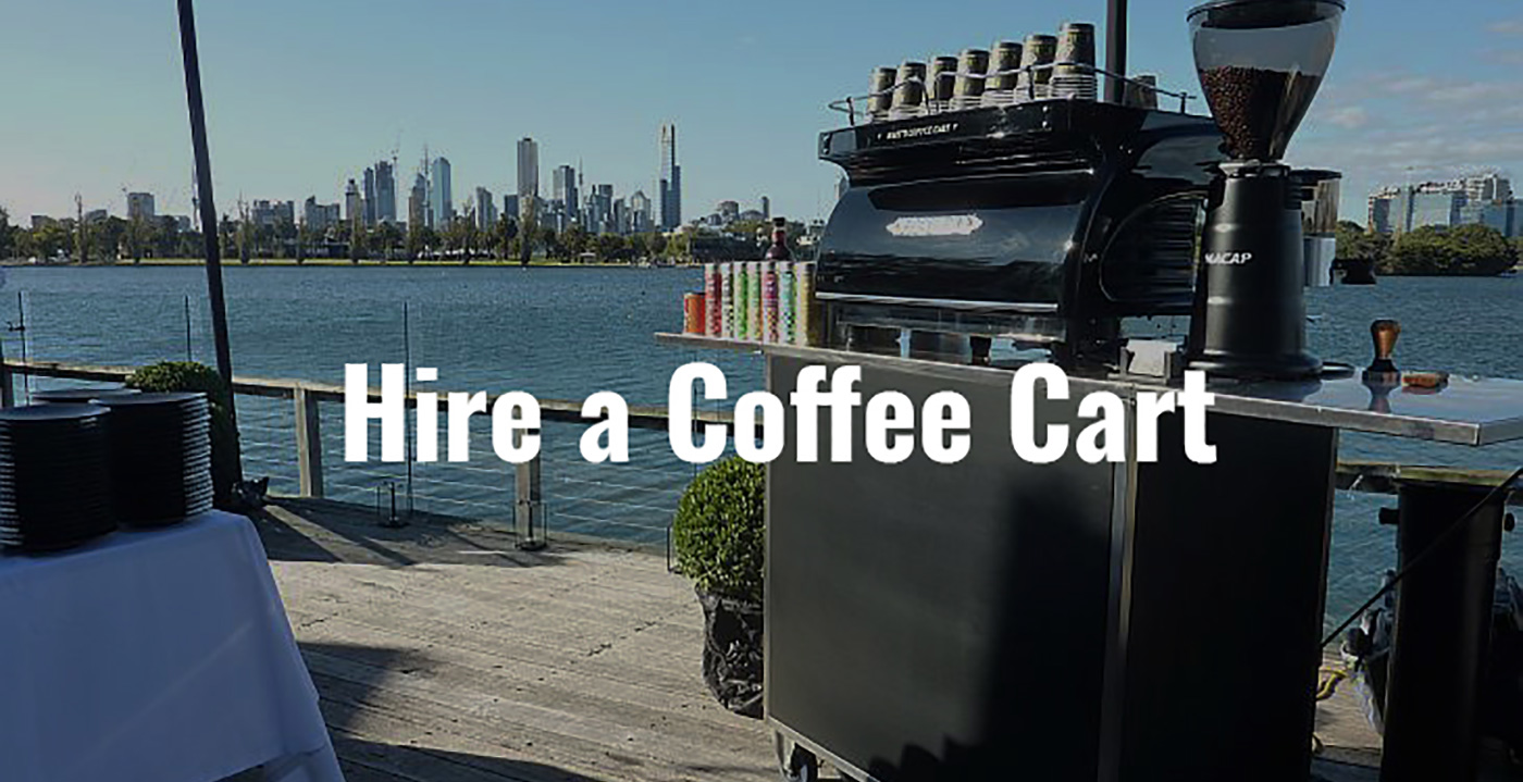 Coffee Cart Hire Victoria